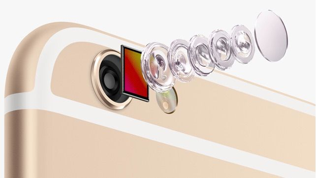 Camera de pe iPhone 6S – un upgrade major