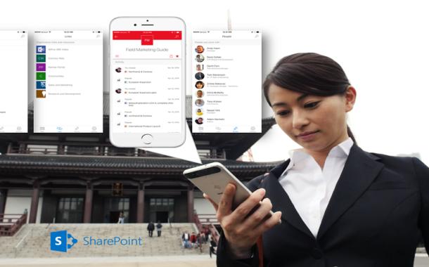 Microsoft pune intranet-ul companiei, direct pe iPhone-ul tau