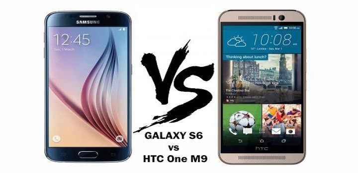 HTC One M9 sau Samsung Galaxy S6