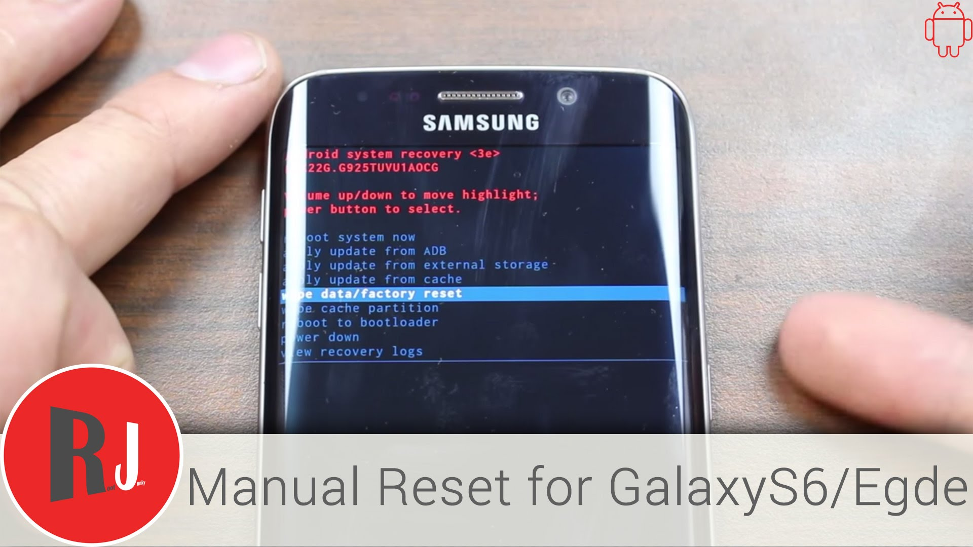 Cum resetezi un Samsung Galaxy S6 si Galaxy S6 Edge?