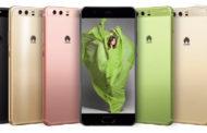 Huawei lanseaza P10 si P10 Plus, pe verde