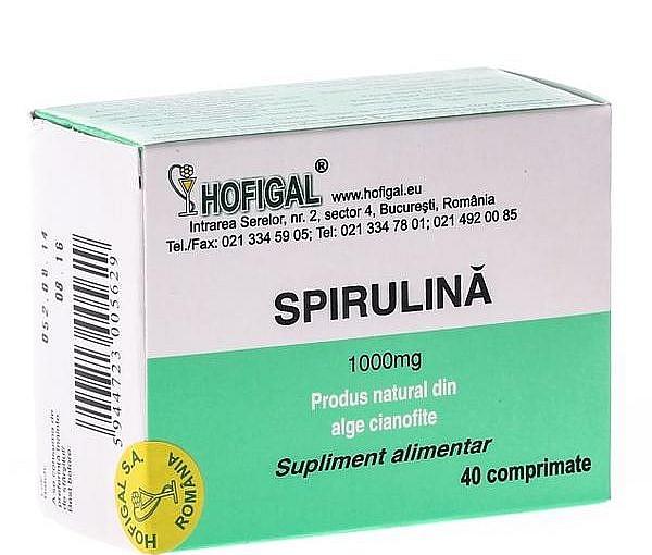 Spirulina, alga minune pentru organismul tău